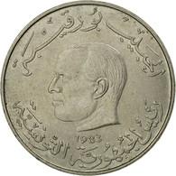 Monnaie, Tunisie, Dinar, 1983, Paris, TTB, Copper-nickel, KM:304 - Tunisia