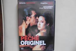 DVD Peche Originel - Original Sin Avec Antonio Banderas Et Angelina Jolie - Drame