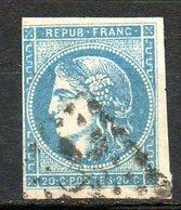 FRANCE - 1870-71 - Emission De Bordeaux - N° 45C - 20c. Bleu - (Type II - Report 3) - 1870 Bordeaux Printing