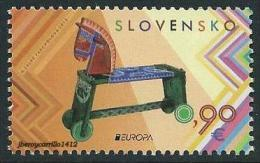 "ESLOVAQUIA/ SLOVAKIA/ SLOWAKEI -EUROPA 2015- JUGUETES ANTIGUOS - OLD TOYS""- SERIE De 1 V. - Europa-CEPT"