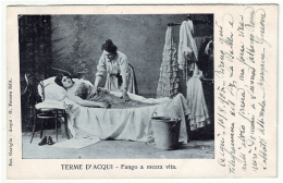 ACQUI TERME Alessandria Fango A Mezza Vita Viagg. 1905 - Alessandria