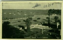 ARGENTINA - ROSARIO - ALBERDI. AVENIDA COSTANERA - MAILED TO ITALY - 1940s  (BG657) - Argentina