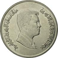 Monnaie, Jordan, Abdullah II, 5 Piastres, 2006/AH1427, TTB, Nickel Plated Steel - Jordanie