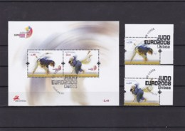 2008 - Judo Euro 2008 Lisboa (Ref. Nº Pu 184) - Used Stamps
