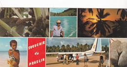 Seychelles Islands  Praslin Island  10 X 21 - Multivues Dont Aéroport - - Seychelles