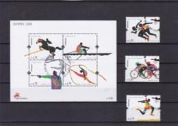 2008 - Jogos De XXIX Olimpíada (Ref. Nº Pu 186) - Used Stamps