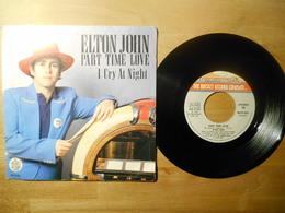 Elton John Part Time Love 1978 - 45 T - Maxi-Single