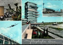 ! Moderne Ansichtskarte Flughafen Wien Schwechat, Airport, Aeroport, 1964 - Aerodrome