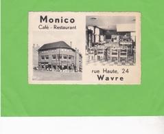 """WAVRE  -  Café-Restaurant """"MONICO"""" - Waver"""