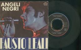 FAUSTO LEALI -POTRAI FIDARTI DI ME-ANGELI NEGRI- DISCO VINILE 45 GIRI -ANNO 1968 - Dischi In Vinile