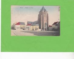 WAVRE  -  L'Eglise Et La Place - Waver