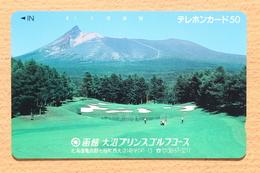 Japon Japan Free Phonecard (F) - / 110-28580 / Golf / Landscape / Mint Neu Neuve - Sport