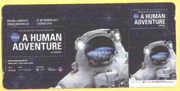 A HUMAN ADVENTURE - G Force, Spazio Ventura XV - Biglietto D'Ingresso - Abbonamento Open - Tickets D'entrée