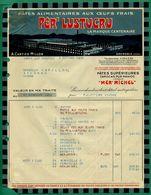 38 Grenoble Lustucru Pates Aux Oeufs Frais 6 Octobre 1938 - Food