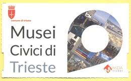 TRIESTE - Castello Di San Giusto - Biglietto D'ingresso Ridotto FVG Card - Tickets D'entrée