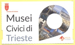TRIESTE - Castello Di San Giusto - Biglietto D'ingresso Ridotto FVG Card - Tickets - Vouchers