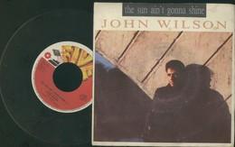 "JOHN WILSON -THE SUN AIN'T GONNA SHINE -DISCO VINILE 45 GIRI ""7 - Dischi In Vinile"