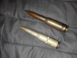 Lot 2 Cartouches 12,7 Spotter Neutralisé - Decorative Weapons