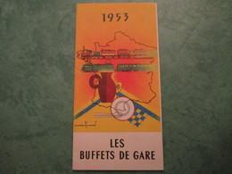 LES BUFFETS DE GARE - Voyageurs-Touristes-Gourmets - Railway