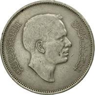 Monnaie, Jordan, Hussein, 100 Fils, Dirham, 1975/AH1395, TTB, Copper-nickel - Jordanie