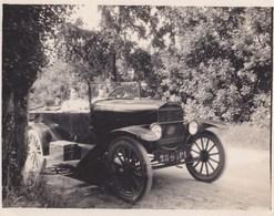 Photo De Voiture Ancienne Décapotable  Marque à Déterminer  Immatriculation 2596 P1 - Cars