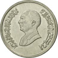 Monnaie, Jordan, Hussein, 10 Piastres, 1993/AH1414, TTB, Nickel Plated Steel - Jordanie