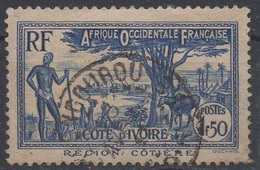 Côte D'Ivoire (colonie Française) - N°YT 126 Obl.. - Oblitérés