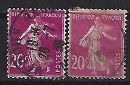 France 1924-26  Semeuse (o) Yvert 190 - 1906-38 Sower - Cameo