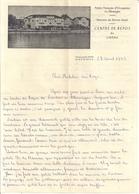 ARMEE FRANCAISE D'OCCUPATION EN ALLEMAGNE  -CENTRE DE REPOS DE LINDAU  1949  COURRIER - Documents