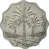 Monnaie, Iraq, 10 Fils, 1975, SPL, Stainless Steel, KM:142 - Iraq