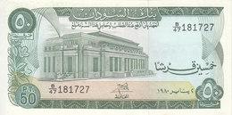 SUDAN 50 PIASTRES 1980 P-12c Au/UNC */* - Soudan