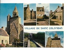 56 VILLAGE De SAINT-COLOMBAN MX 3572 :Vieilles Maisons Sanctuaire Style Gothique Flamboyant / CPM écrite Sans Timbre/TBE - Carnac