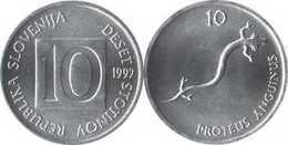Slovenia - 10 Stotinov 1992 UNC Bank Bag - Slovenië