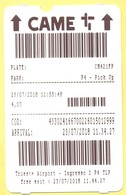 Trieste Airport - Parcheggio Aeroporto - Tickets D'entrée