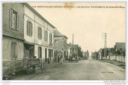 76.LA NEUVILLE-CHAMP-D&acute OISEL.L A MAISON TAINIER ET LA GRANDE RUE.TACHE - France