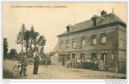 76.LA NEUVILLE-CHAMP-D&acute OISEL.M AISON ROSSET.CAFE MERCERIE - France
