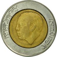 Monnaie, Maroc, Al-Hassan II, 5 Dirhams, 1987/AH1407, Paris, TTB, Bi-Metallic - Marruecos