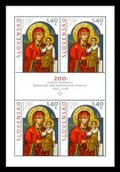 Slovakia 2018 Mih. 855 Mother Of God. Icon Of Krasny Brod (M/S) MNH ** - Nuevos