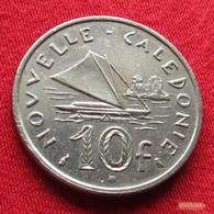 New Caledonia 10 Francs 1972 KM# 11  Nouvelle Caledonie - Nouvelle-Calédonie