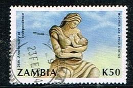 ZAMBIE /Oblitérés/Used/1990 - 26 éme Anniversaire De L'independance - Zambia (1965-...)
