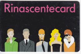 Italy  , Milano , Rinascentecard , Privilegy Card , Fidelity Card , RARE +++ - Andere Verzamelingen