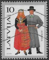 Latvia SG371 1993 Traditional Costumes 10s Good/fine Used [22/19732/6D] - Latvia