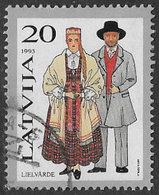 Latvia SG372 1993 Traditional Costumes 20s Good/fine Used [38/31506/6D] - Latvia
