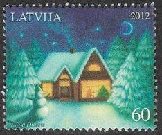 Latvia 2012 Christmas 60s Good/fine Used [38/31507/ND] - Latvia