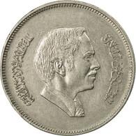 Monnaie, Jordan, Hussein, 50 Fils, 1/2 Dirham, 1994/AH1404, TTB, Copper-nickel - Jordanie