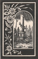 Marie Agnes L ̓ Hoest-verviers 1901 - Images Religieuses