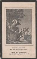 Joanna Judoca Van Hove-calloo 1797-1868 - Devotion Images