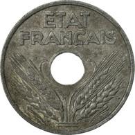 Monnaie, France, État Français, 20 Centimes, 1942, Paris, TB+, Zinc, KM:900.1 - France