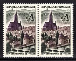 FRANCE 1961 - PAIRE / Y.T. N° 1308  - NEUFS** - Unused Stamps