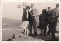 SPAIN ESPAÑA - LA GUARDIA - MONTE DE SANTA TECLA    -  PHOTO PHOTOGRAPH - PHOTOGRAPHY   - 7 Cm X 10 Cm - Anonymous Persons